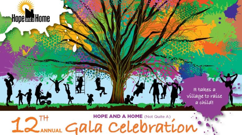 Hope and a Home (not quite a) Gala Celebration – Hope and a Home