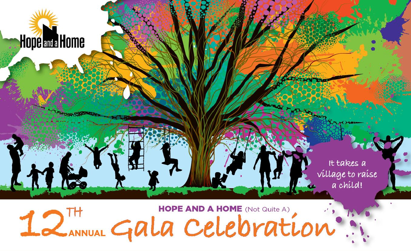 Hope and a Home (not quite a) Gala Celebration